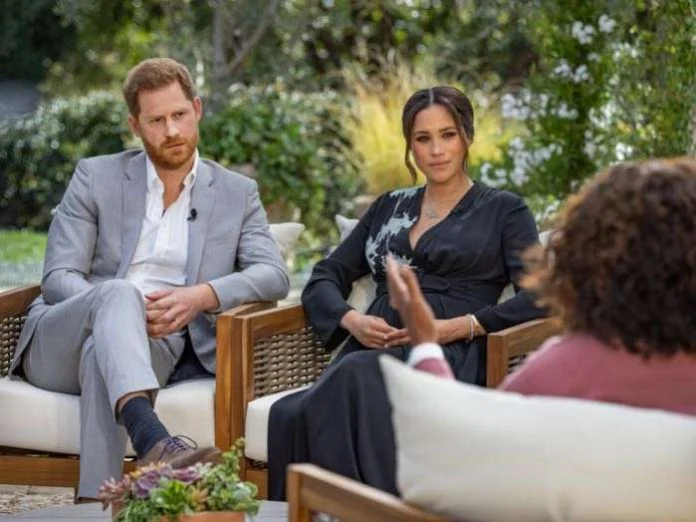 Duchess of Sussex accuses British royal family of racism
