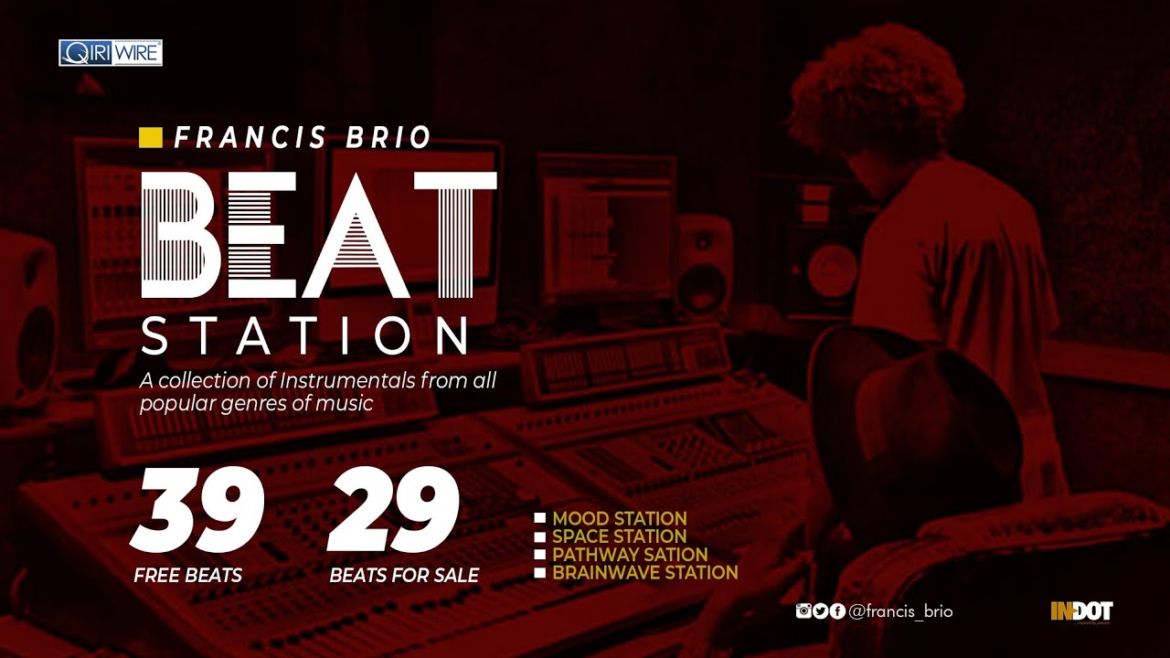 Francis Brio releases Beat Station Official Video
