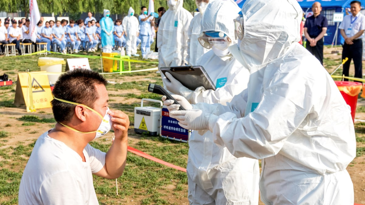 A man in China may be the world's first human to be infected with H10N3 strain of bird flu.